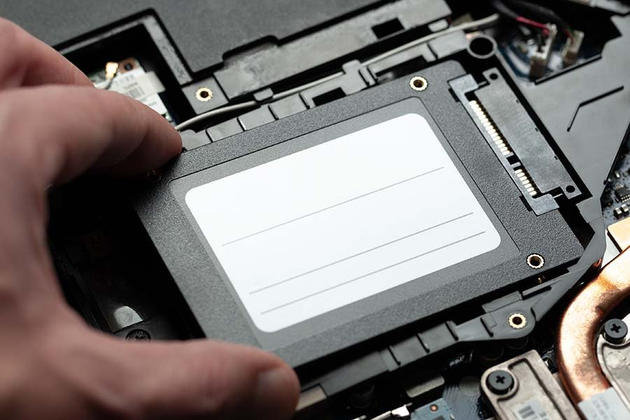 Recovering Solid State Drive SSD Data