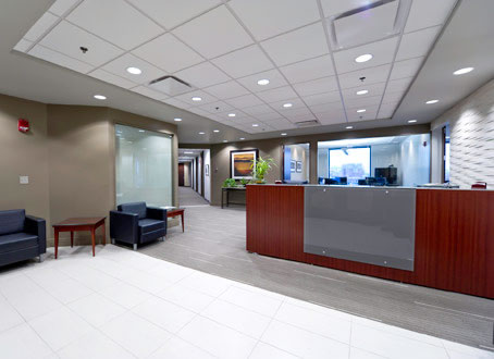 Proven Data Recovery in Boston Reception area