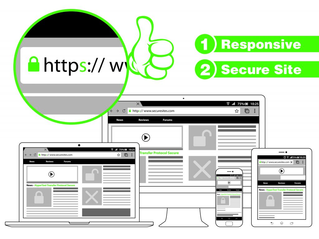 Secure with HTTPS