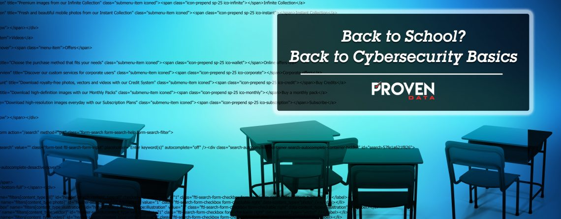 Back To School Cybersecurity Basics