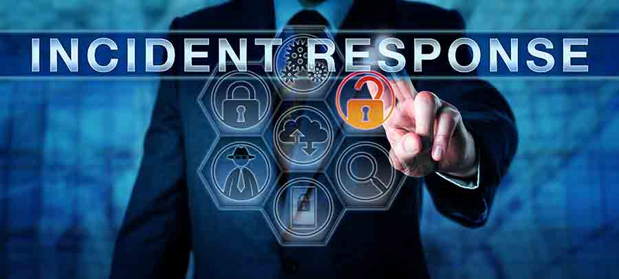 Develop an incident response plan for you business cyber security