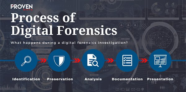 The Process of Digital Forensics