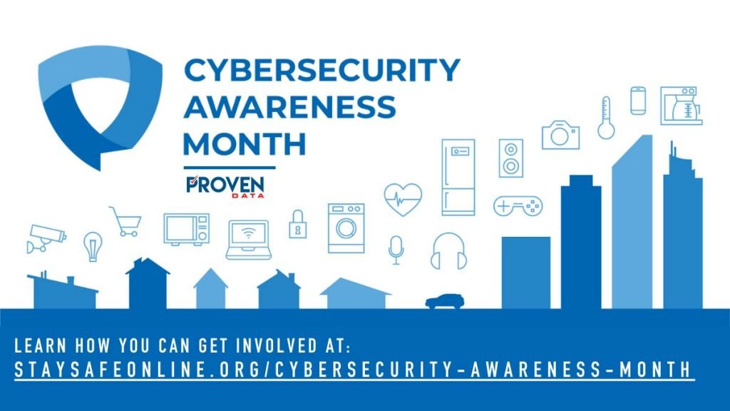 2020 National Cyber Security Awareness Month Champion Proven Data