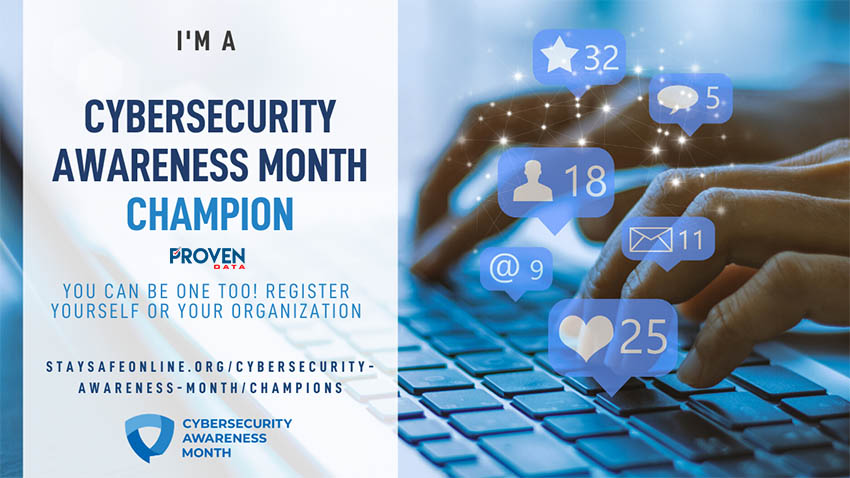 Proven Data 2020 National Cyber Security Awareness Champion