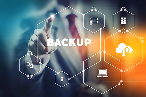 Be prepared with backups